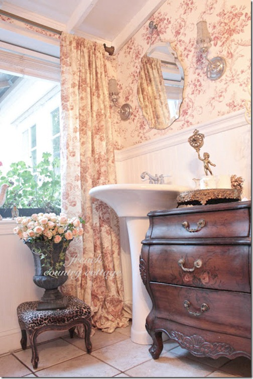 French Country Decorating Kitchen Curtains