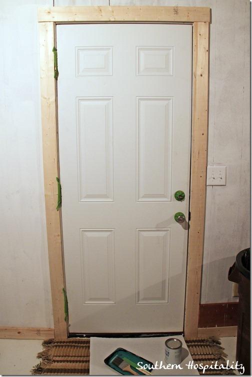 Painting A Door Green
