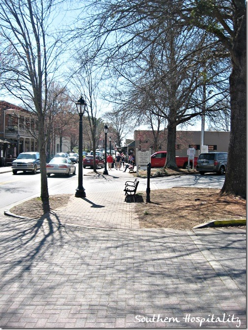 Canton Street downtown Roswell