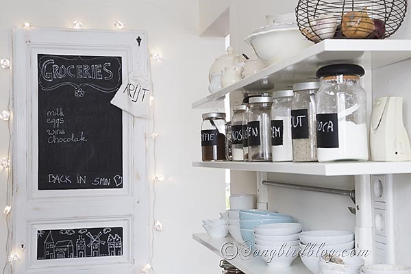 Feature friday songbird southern hospitality for Kitchen chalkboard