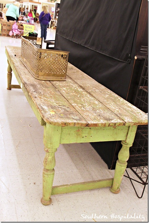 old farm table $500