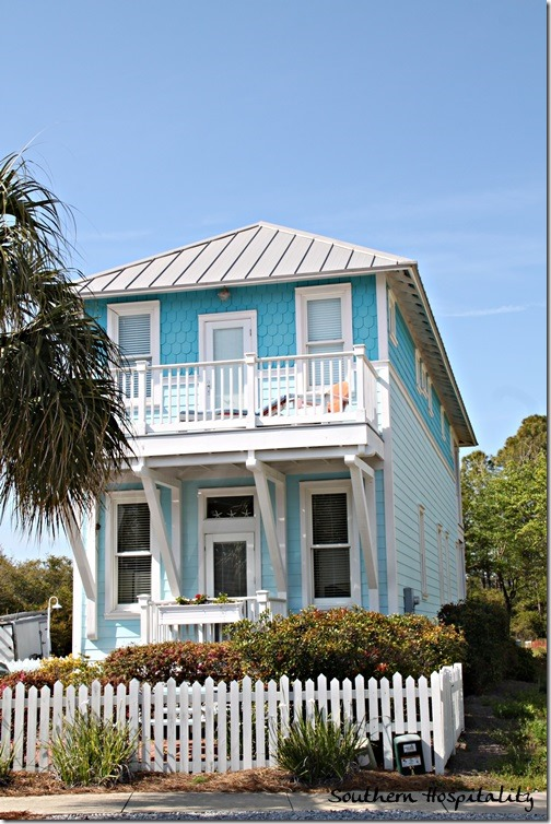 Carrillon Beach Cottages Southern Hospitality: beach cottage house