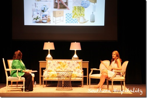 Aerin Lauder speaks
