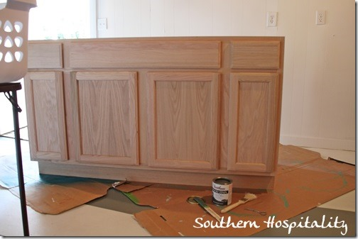 Cute Lowes unfinished oak cabinet
