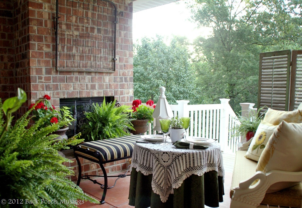 Feature Friday Back Porch Musings Southern Hospitality