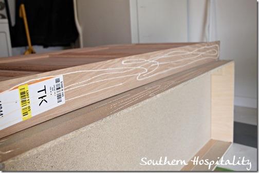 kickplate oak strip