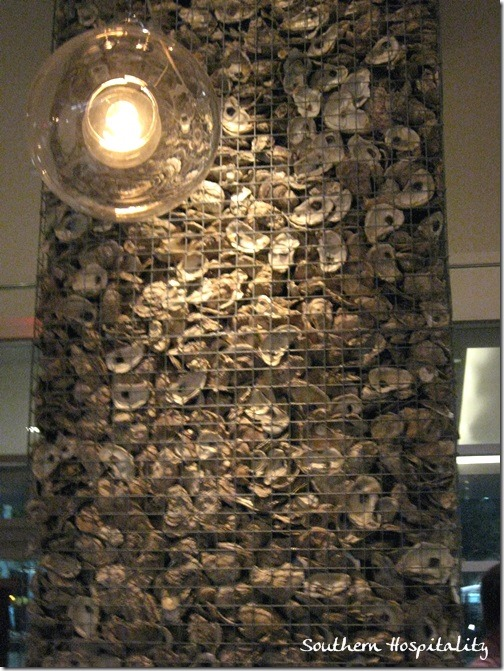 Borgne wall of oyster shells
