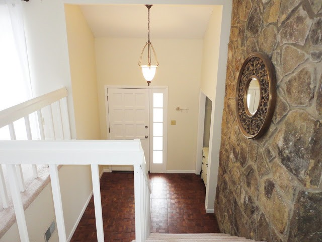 Big Lots Petite Foyer Fireplace : Feature friday live love diy southern hospitality