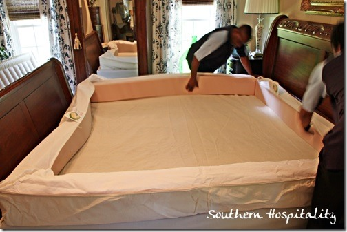 Sleeping on a Sleep Number Bed - Southern Hospitality