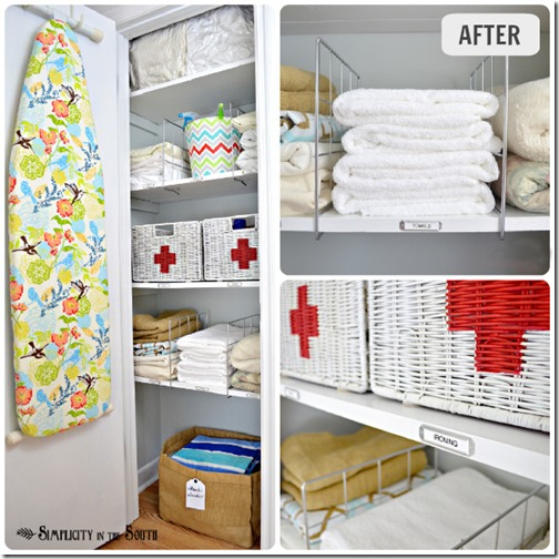 Hall-linen-closet-organization-ideas
