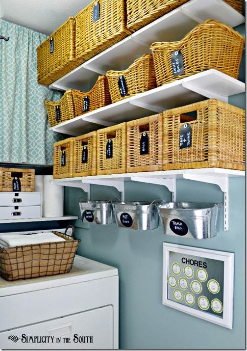 Laundry-Room-organization-with-baskets