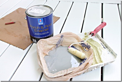 Sherwin Williams Porch and Floor paint