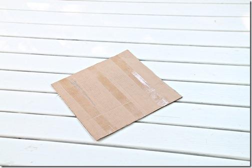 template on diagonal