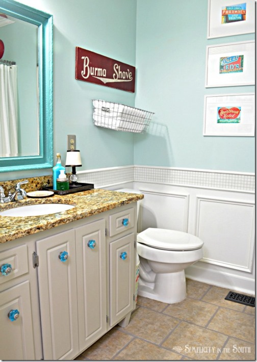 turquoise-and-red-bathroom