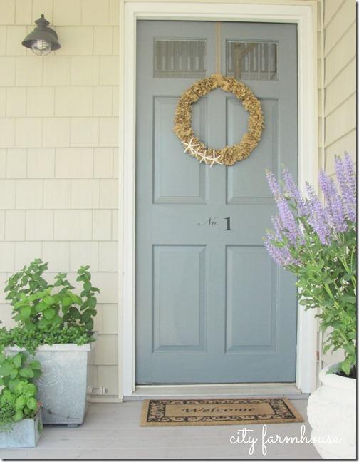 City Farmhouse Front Door