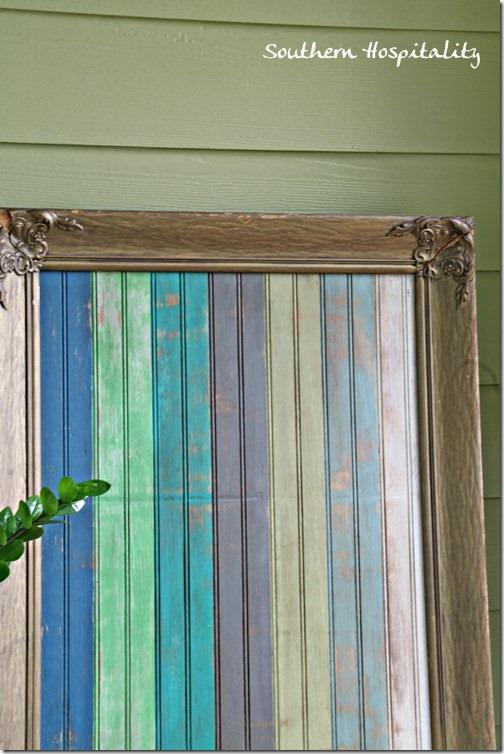 framed beadboard