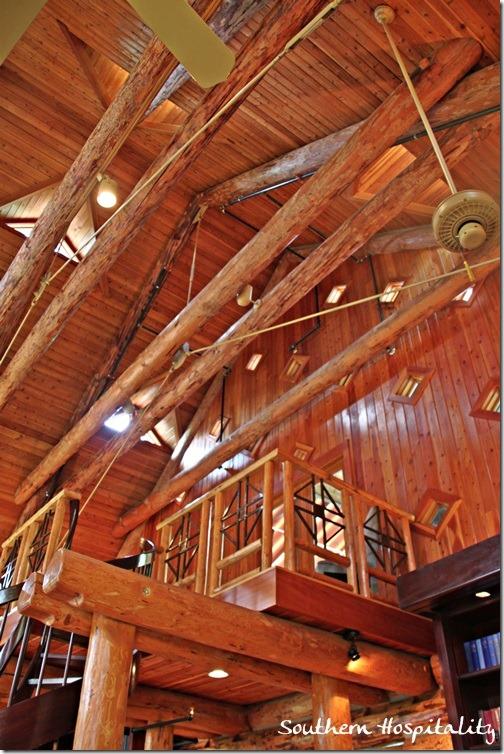 log ceiling