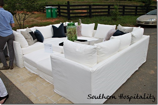 mitchell gold sectional