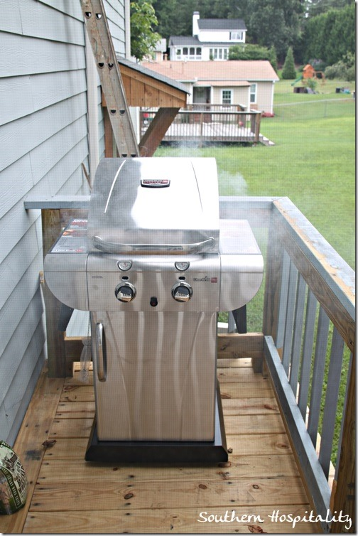 new grill from Lowes
