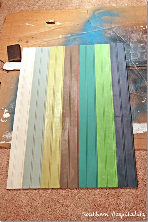 painted beadboard