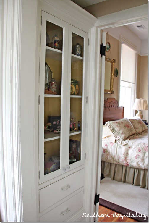 tucked away cabinet