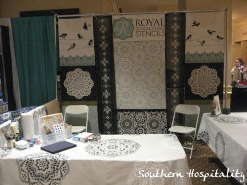 Royal Design booth