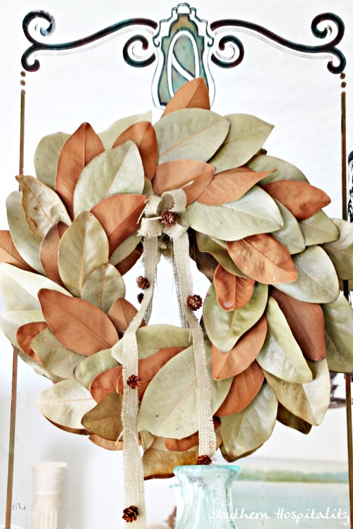 Fall magnolia wreath (3)