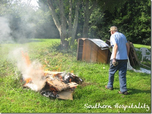 backyard burn pit