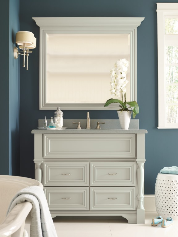 Makeover My Vanity Omega Bathroom Cabinetry Pinterest Contest Southern Hospitality
