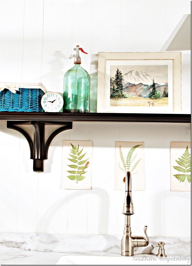 ballard shelf over sink