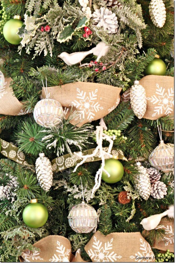 ornaments unlit
