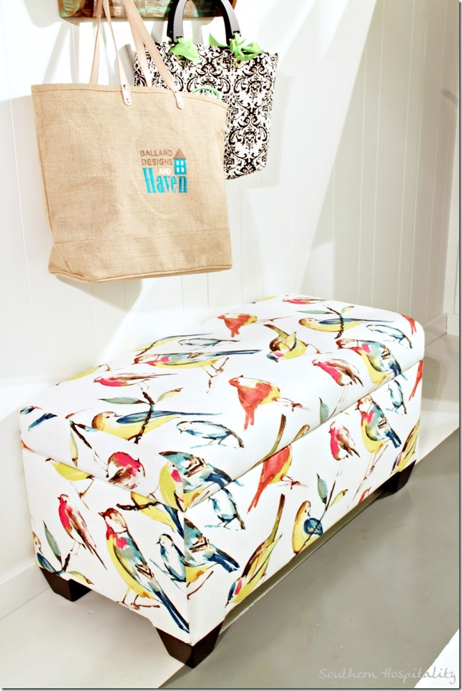 wayfair bird bench