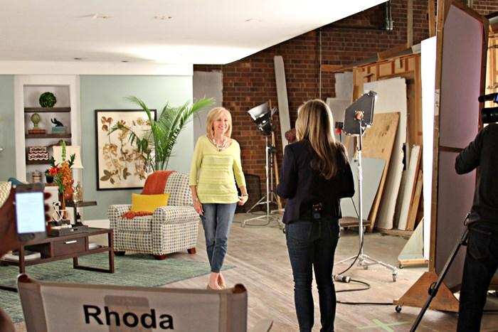 Rhoda in room