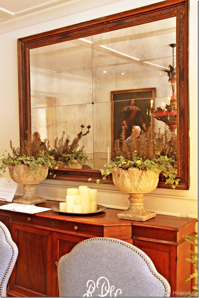 dining room mirror