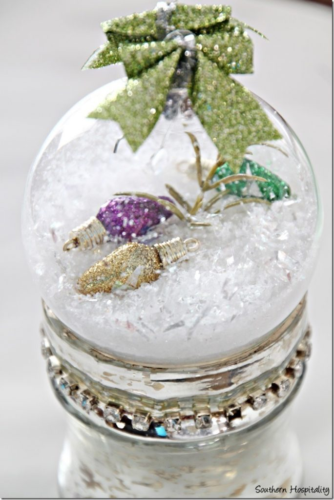 diy glass ornament