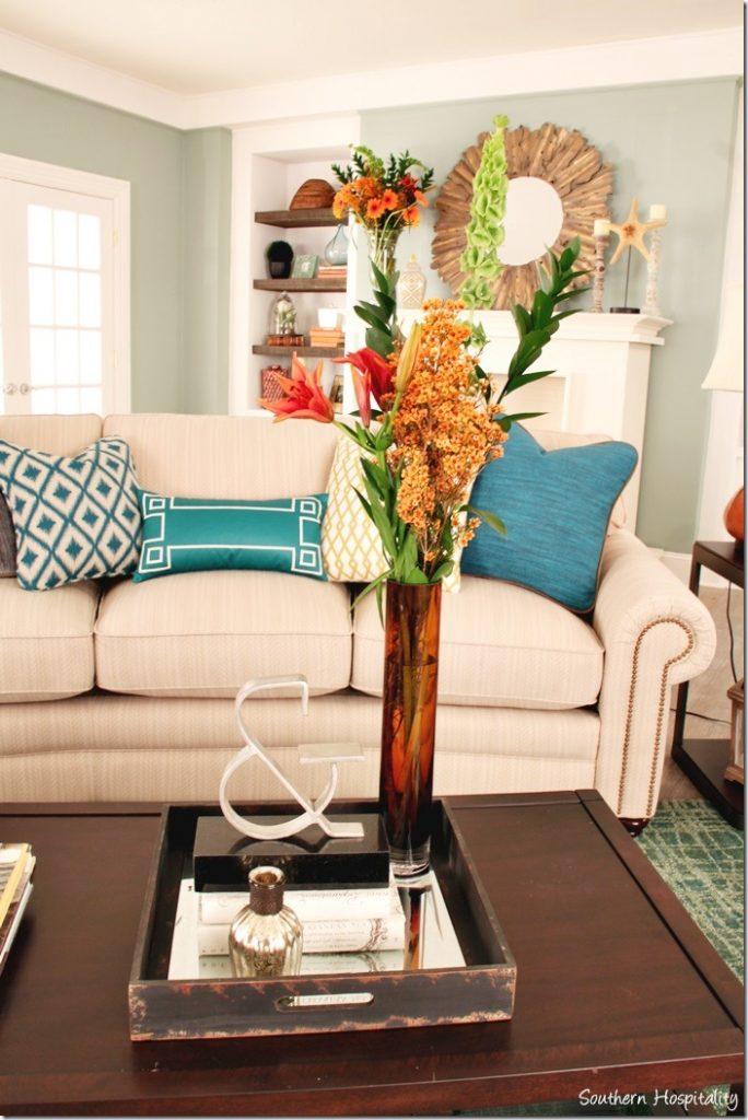 flowers coffee table