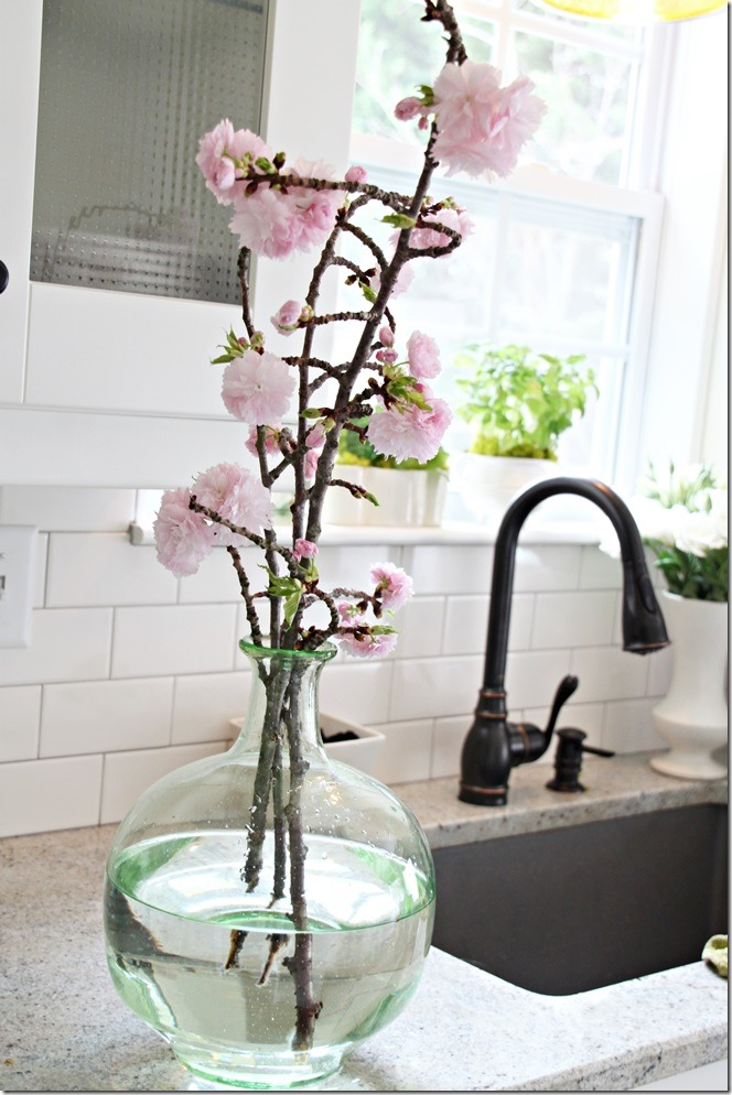 kitchen flowers