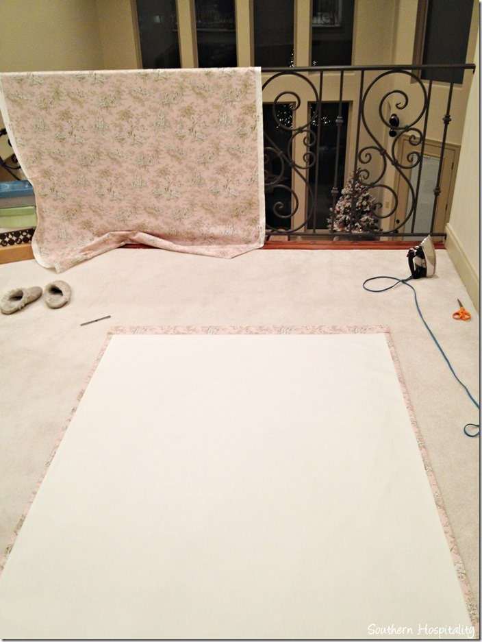sewing drapes
