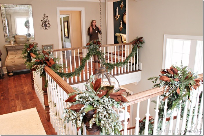 upstairs railings