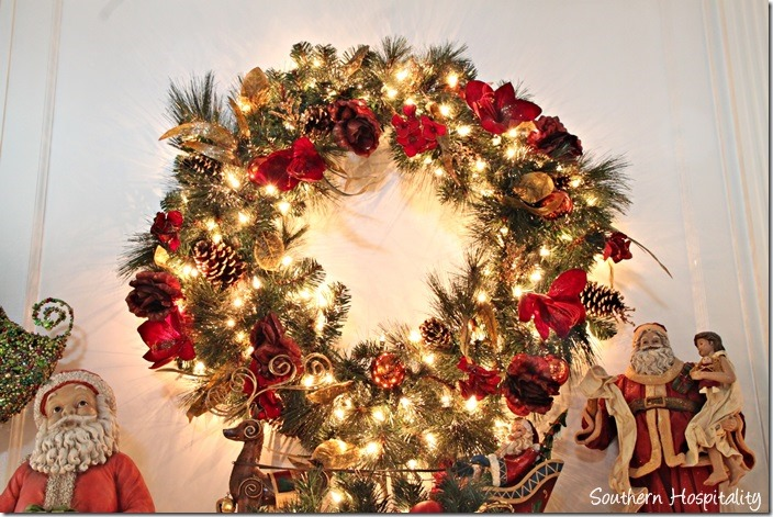 Tree Classic lighted wreath