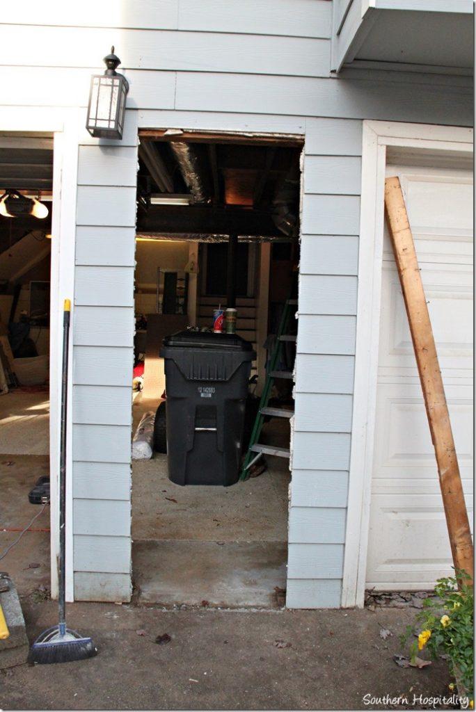 cutting door bigger