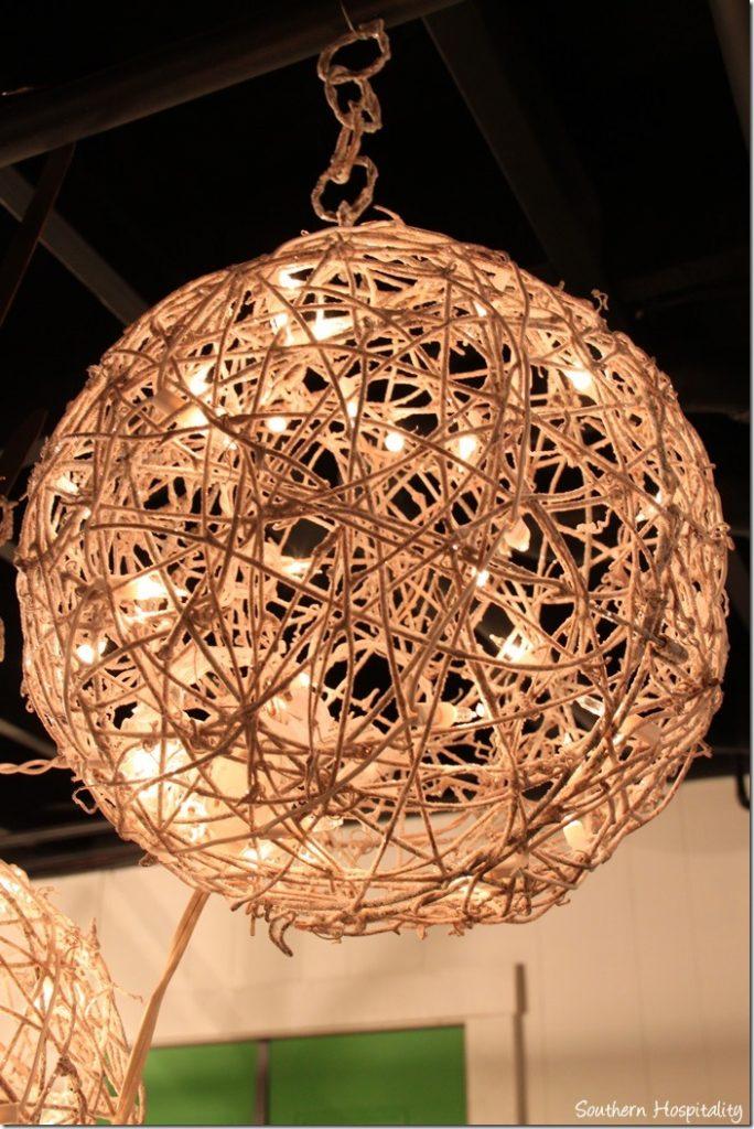Grapevine Balls Decorating Ideas