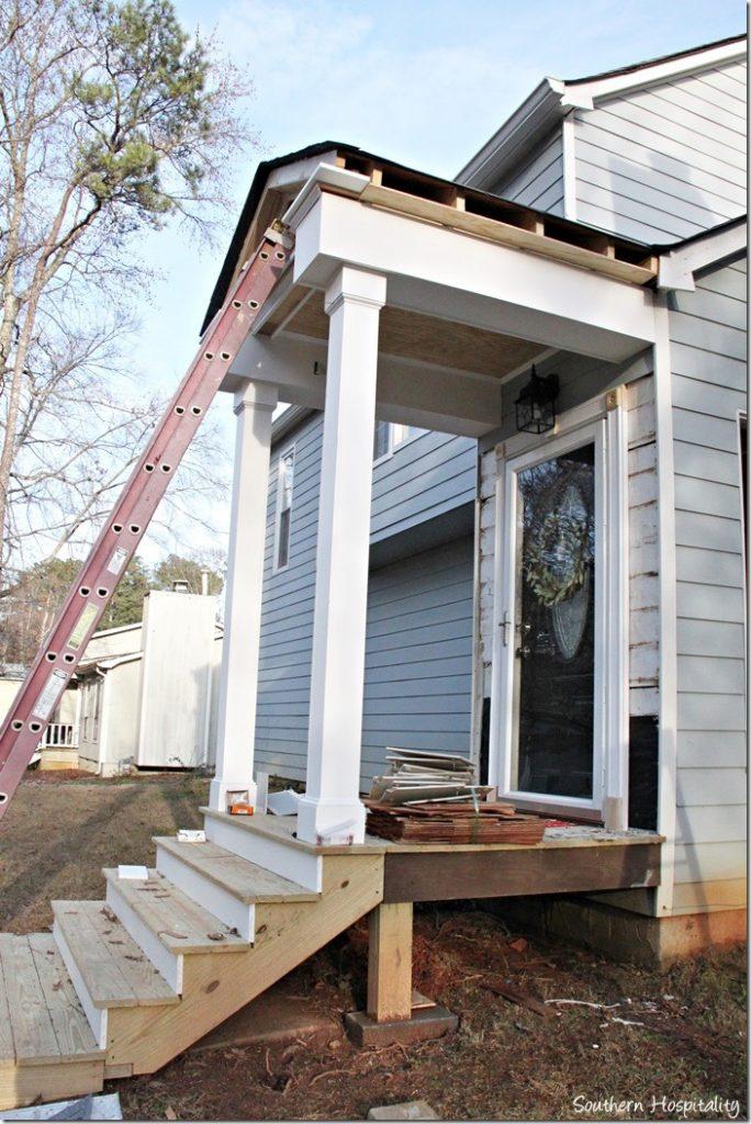 porch trimout