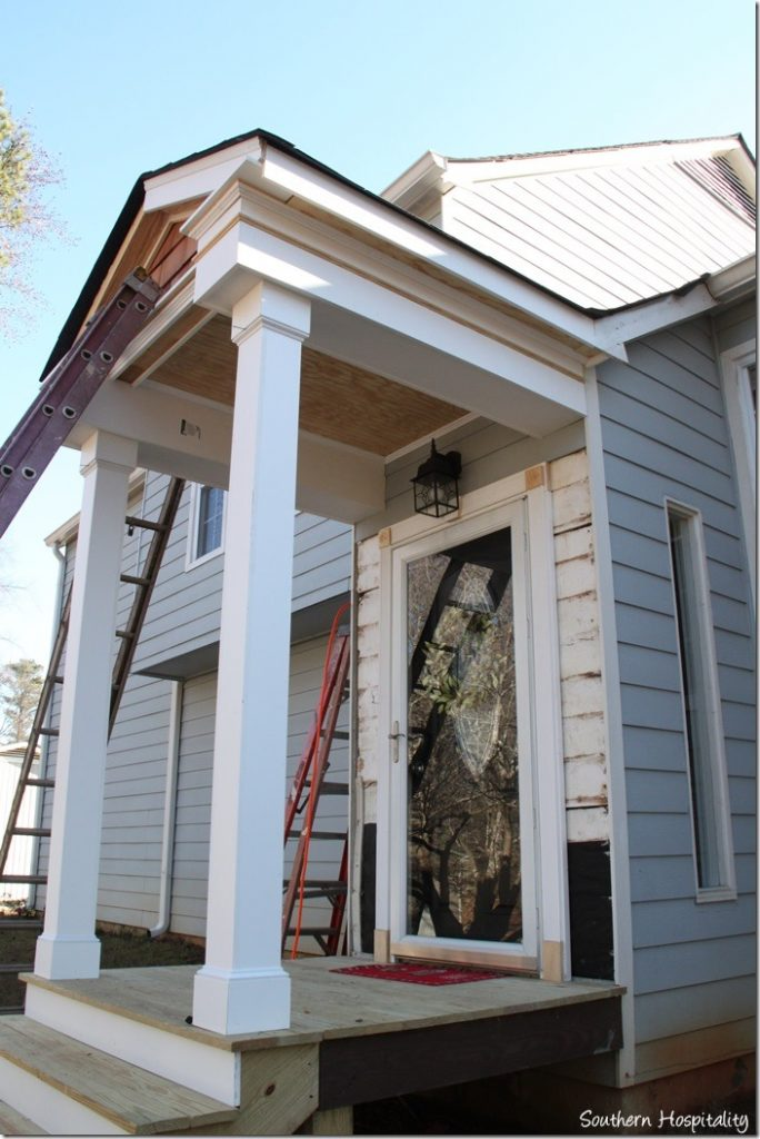 Building A Front Portico Southern Hospitality