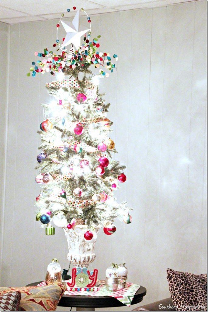 vintage table tree