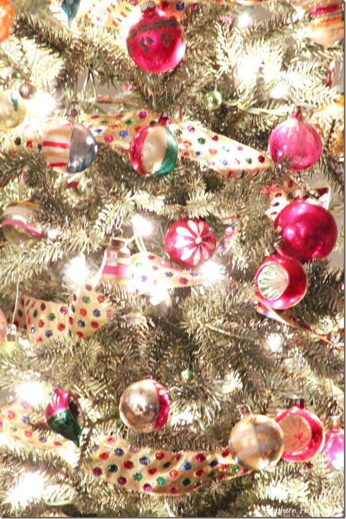 vintage tree ornaments