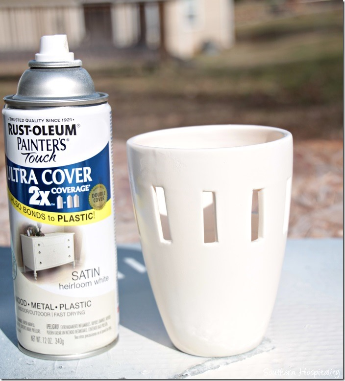 Heirloom  White Rustoleum
