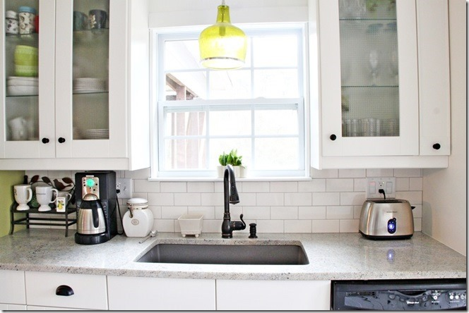 kitchen sink side