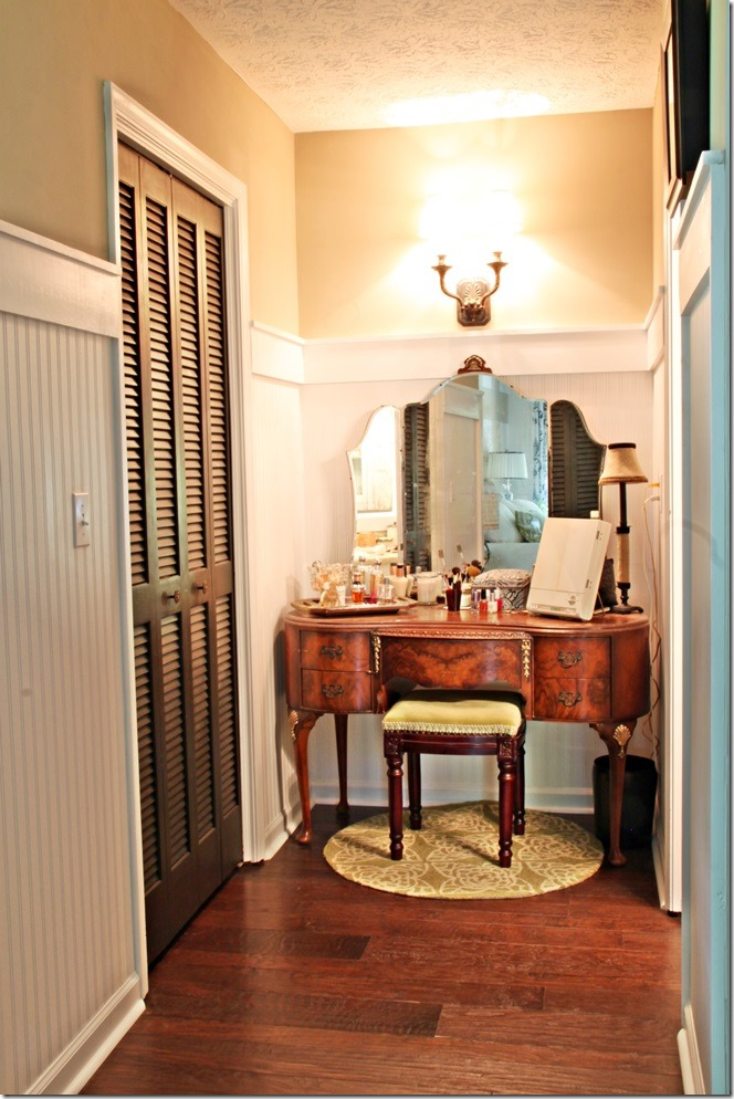A stroll thru life show off inspire southern hospitality Vanity for master bedroom