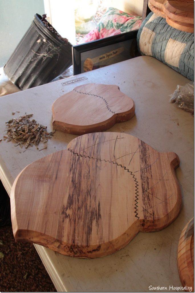 oak cutting boards